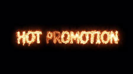 hot promotion fire mark glow end offset 2 second