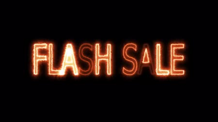 割合 : flash sale fuel and fire mark glow end offset 2 second animation for advertise and banner