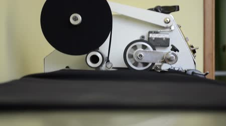 meada : A small workshop for the production of yarn. Equipment for rolling materials and rolling coils.