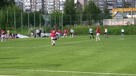 match : KURSK, RUSSIA - JULE 3: football match of the championship Amateur teams.