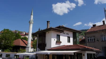 franz ferdinand : Sarajevo old house and mosque