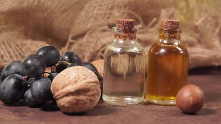 orzech : cosmetic oil made from walnuts, grape seed and macadamia nuts