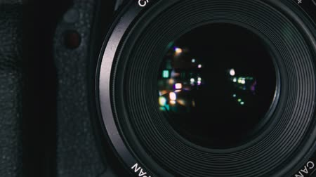 filmagens : The camera takes a picture Stock Footage