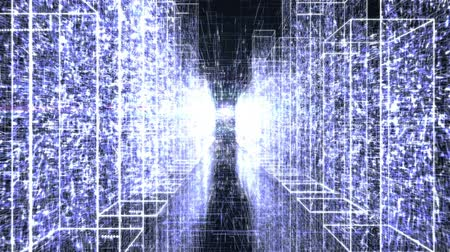security agencies : Glowing Tunnel in Virtual Space