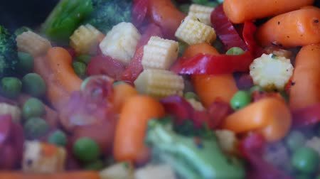 baixo teor de gordura : Frying vegetable mix