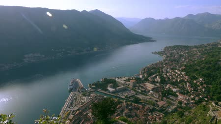 magasság : Kotor Bay from the height