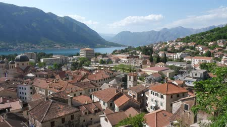adriyatik : The old town of Kotor taken from the height
