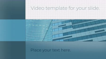 preparado : Business Video template for your slide