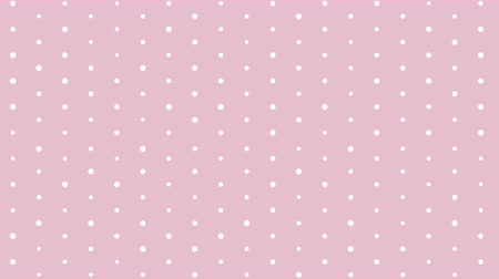 Simple pink polka dot background