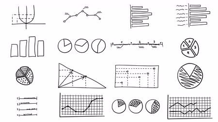 szkic : Hand-drawn infographics animation