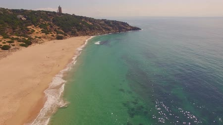 drone : Drone flight over Spanish coast