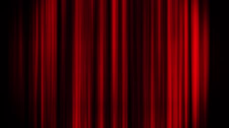 perdeler : Red Glowing Vertical Lines Loop Motion Graphic Background