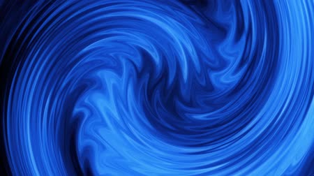 Líneas abstractas azules Vortex VJ Loop Motion Background