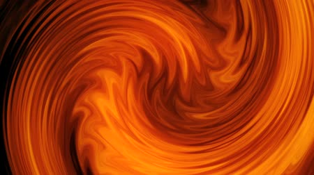 Orange Abstract Lines Vortex VJ Loop Motion Background Archivo de Video