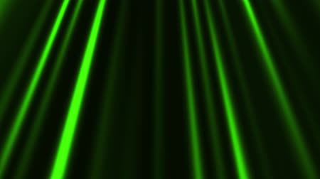 церемония : Green Glowing Vertical Lines Loop Motion Graphic Background Стоковые видеозаписи