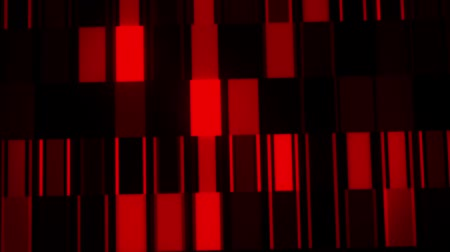 fantasia : Red Digital Neon Lines & Squares VJ Loop Motion Background