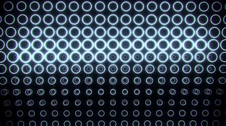 бесшовный : White Neon Circles Wall Abstract Motion Background VJ Loop