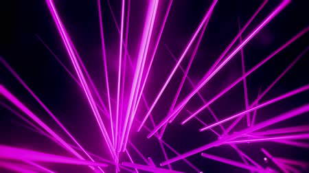 неон : Purple Neon Tubes Vortex VJ Loop Abstract Motion Background Стоковые видеозаписи