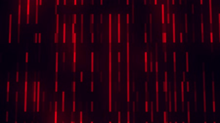 Red Glowing Digital Neon Lines VJ Loop Motion Background