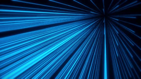 dizayn : 3D Glowing Blue Lines Animation VJ Loop Motion Background