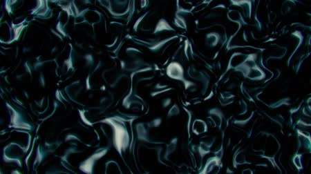 Dark Abstract Liquid Metal Fluid Loopable Motion Graphic Background