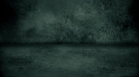 BW Grunge Wall and Floor Loopable Intro Background Стоковые видеозаписи