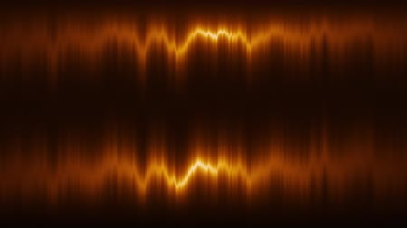 ethereal : Orange Vertical Distortion of Light VJ Loop Motion Background Stock Footage