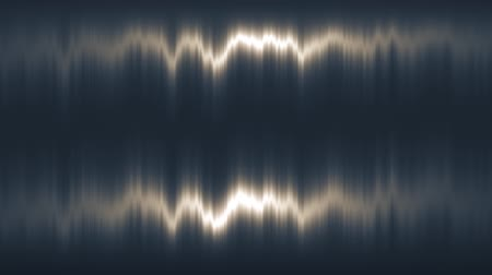 onde radio : Distorsione verticale bianca della luce Vj Loop Motion Background