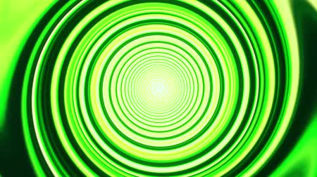 electro : Green Space Time Warp Tunnel Vortex Loopable Motion Background V2