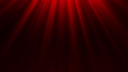 Red Light Rays & Dust Particles Loop Motion Background