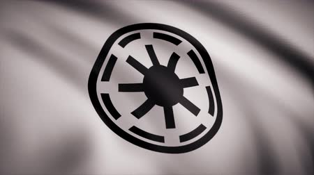 invasione : Star Wars Galactic Republic Symbol Logo Flag. Star Wars Galactic Republic Symbol Logo Flag. Solo per uso editoriale