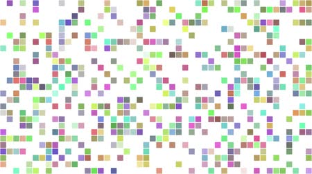mozaik : Multicolored pixel square mosaic background