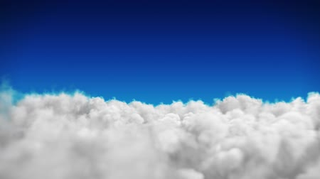 bulutluluk : Blue sky background with white clouds
