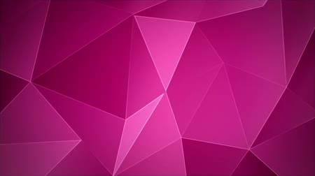 aydınlatmak : Abstract animated background triangular