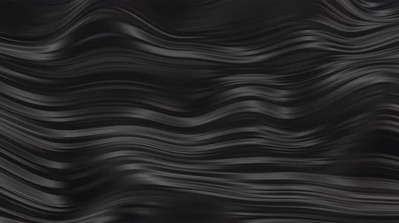 grosso : Abstract black rubber waves
