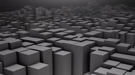 variedade : Digital background of the many squares Stock Footage