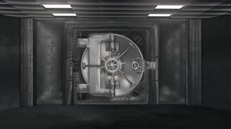 хранилище : Bank Vault And Opening Safe with alpha channel