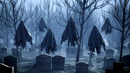 crepúsculo : Flying Ghosts in the Cemetery