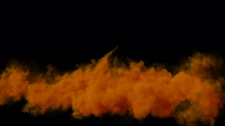 blending : Edit Volume orange Smoke with Alpha Channel