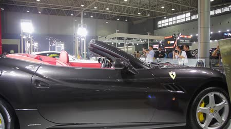 expo : Xi An, China - Sep 30 2013: -Macao Auto Show
