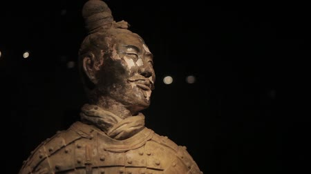 terrakotta : XIAN CHINA-May 30 2012: The famous terracotta warriors of Xian,