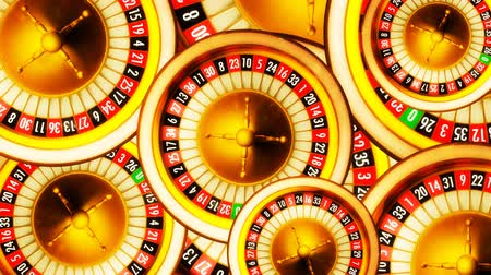 servet : 3D animation composition of casino roulette wheels