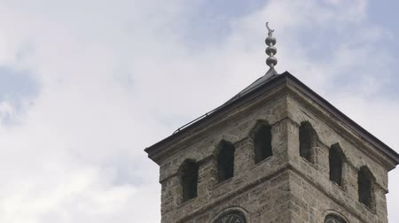 bascarsija : Old watch tower near Gazi Husrev mosque in the begining of Bascarsija, Sarajevo, Bosnia an Herzegovina