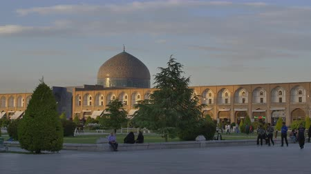 persie : Isfahan Imam Square at sunset