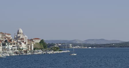 Sibenik coastal view