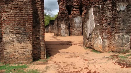 polonnaruwa : Ruins of the Royal Palace of King Parakramabahu in the ancient city of Polonnaruwa, Sri Lanka.