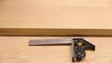 measuring and marking a board