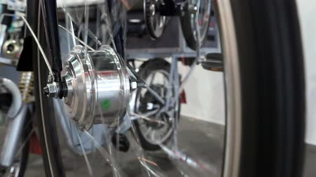 electromotor : Electric wheel for city bicycle. Bicycle electric wheel