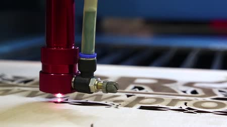 woodcut : Laser cutter. Programmable laser cutting