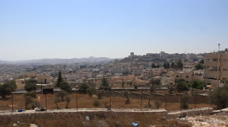 israelite : Holy Land. Bethlehem. Palestinian National Authority Stock Footage